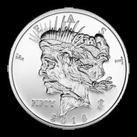 1 oz Zombucks Feast Dollar Silver Round
