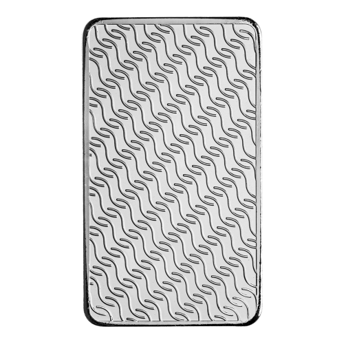 Interlaced wavy line pattern