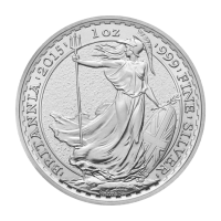 Moneda de plata Britannia 2015 de 1 oz