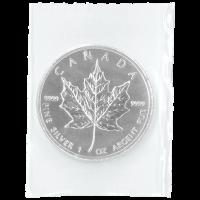 1 oz Silbermünze - kanadisches Ahornblatt - eingeschweißt 2013