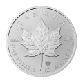 1 oz 2015 Canadian Maple Leaf Silver Coin