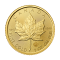 1 oz 2015 Canadian Maple Leaf Gold Coin