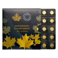 25 g (25 x 1 g) 2015 MapleGram25 Sheet of Gold Coins