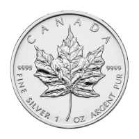 1 oz 2009 Canadian Maple Leaf Silver Coin