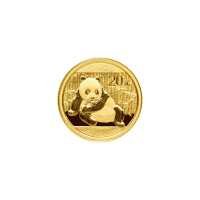 1/20 oz 2015 Chinese Panda Gold Coin