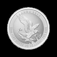 1/2 oz 2015 Bald Eagle Silver Coin