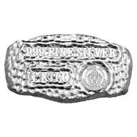 1 kg | kilo Scottsdale Mint Tombstone Nugget Silver Bar