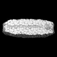 Barra de plata Pepita Lapidaria de Scottsdale Mint de 10 oz