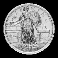 1 oz Zombucks Starving Liberty Silver Round