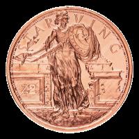 1 oz Zombucks Starving Liberty Copper Round