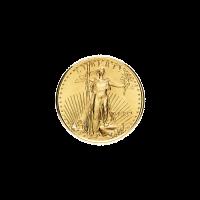 Moneda de Oro Águila Americana Año Aleatorio de 1/10 oz