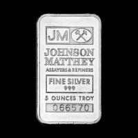 5 oz Johnson Matthey Silver Bar