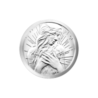 1/4 oz 2015 Peace Within Silver Round