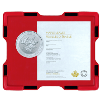 Empty Red Monster Box for 3/4 oz to 1.5 oz RCM Silver Coins