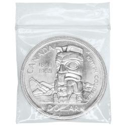 Canadian Silver Dollar $1 Face Value Circulation 80% Pure Silver Coin