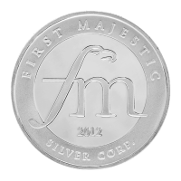 1 oz First Majestic Assorted Silver Rounds
