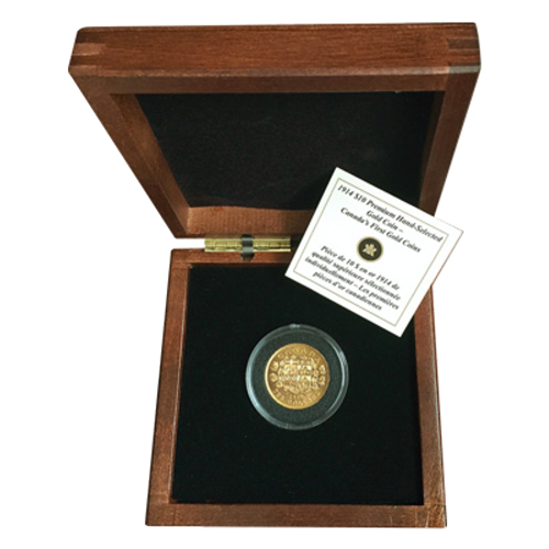 1914 $10 Premium Hand Select Canada Reserve Gold Coin