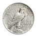 """Bald eagle resting on an olive branch and the words """"United States of America E Pluribus Unum One Dollar Peace"""""""