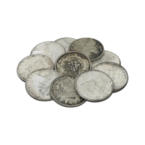 $10 Face Value Bag of Canadian Circulation 80% Pure Silver Coins