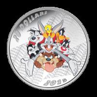 Pièce d'argent de qualité Belle Epreuve (BE) Mélodies joyeuses Looney Tunes™ 2015 de 1 once