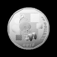 1/2 oz 2015 Looney Tunes™ | Tweety Bird: I Tawt I Taw A Putty Tat Silver Proof Coin