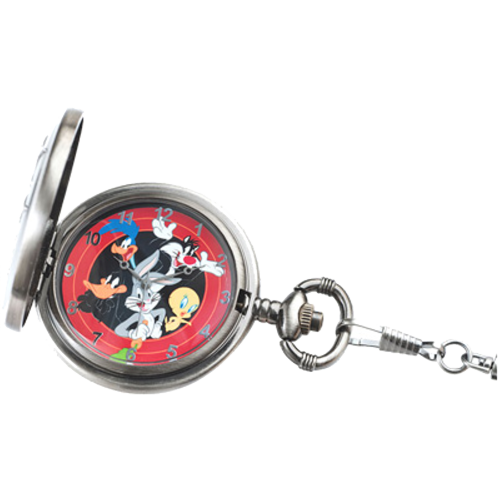 2015 Looney Tunes™ Bugs Bunny and Friends Pocket Watch and 14K Gold Coin