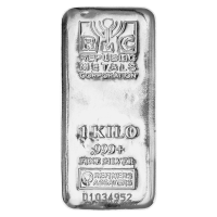 Barra de Plata Republic Metals Corporation de 1 kilo