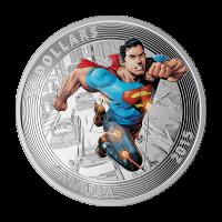Moneda de Plata Superman™ Icónico Portadas de Comics   Comics de Acción #1 2015 de 1 oz