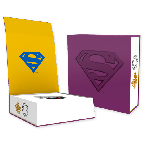 1 oz 2015 Iconische Superman™ Stripboekcovers | Superman™ #28 Zilveren Munt