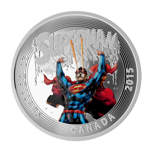 1 oz Silbermünze - klassisches Superman™ Comic Titelbild   Superman™ #28