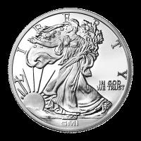 Ronda de Plata del Sunshine Mint Walking Liberty (Libertad caminante) de 1 oz