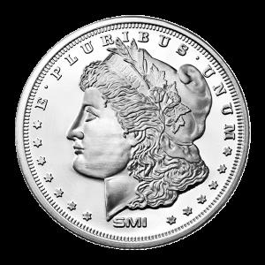 1 oz Sunshine Mint Morgan Silver Round