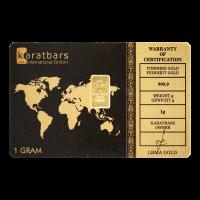 1 gram Karatbars Gold Bar