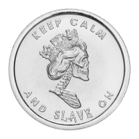 1 oz 2013 Slave Queen Wide Reed Silver Round | Chris Duane Personal Collection