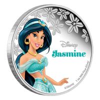 1 oz 2015 Disney Princess Jasmine Silver Coin