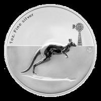 Moneda de Plata Privada Canguro F15 2012 de 1 oz