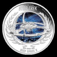 1 oz 2015 Star Trek Deep Space Nine | DS9 Zilveren Proof Munt