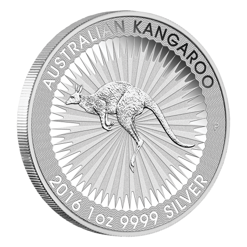 1 oz 2016 Australian Kangaroo Silver Coin
