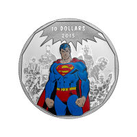 1/2 oz 2015 DC Comics™ Originelen: Nalatenschap Zilveren Munt