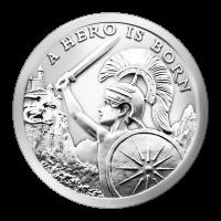 1 oz 2015 Silver Shield A Hero is Born Silver Round