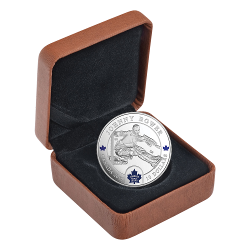 1/2 oz 2015 Goalies | Johnny Bower Silver Proof Coin