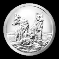 1 oz 2015 Silver Shield Aware and Prepared Silver Round