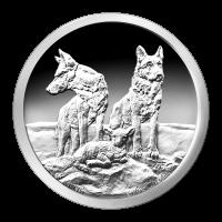 Ronda de Plata como Proof Silver Shield Alerta y Preparado 2015 de 1 oz