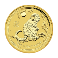 1/2 oz 2016 Perth Mint Lunar Year of the Monkey Gold Coin