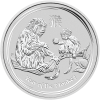 1 kg 2016 Perth Mint Lunar Year of the Monkey Silver Coin
