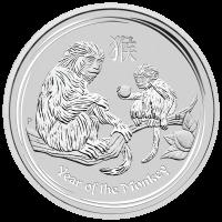 5 oz 2016 Perth Mint Lunar Year of the Monkey Silver Coin