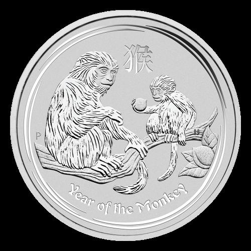 """Effigy of Queen Elizabeth II with the words """"Elizabeth II Australia 1 Dollar 1 oz 999 Silver 2016"""""""
