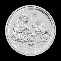 1/2 oz 2016 Perth Mint Lunar Year of the Monkey Silver Coin