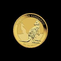 Moneda de Oro Canguro Australiano 2016 de 1/4 oz