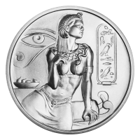 2 oz Cleopatra Ultra High Relief Silver Round